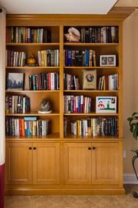 bookshelves by cedars
