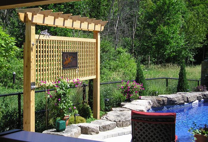Pergolas And Trellises Cedar Wood Structures