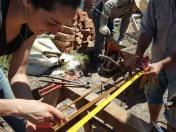 Ingenieros voluntarios trabajando