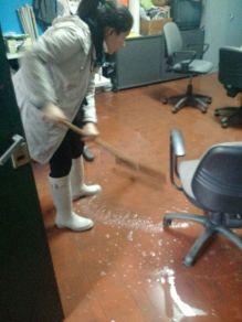 ANTES - Inundacion de oficinas