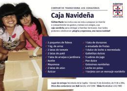 Cajas Navideña - items