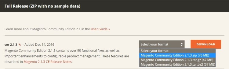 download-magento 2.1.3