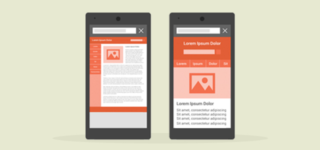 mobile website vs responsive website