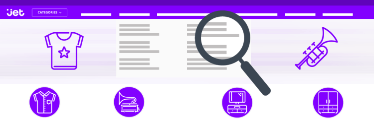 category mapping on jet.com
