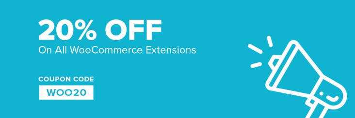 20% offer WooCommerce extensions