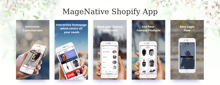 MageNative Shopify Mobile Application
