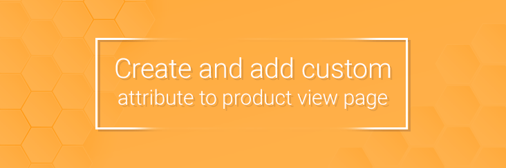 Create a Custom Product Attribute on product view page