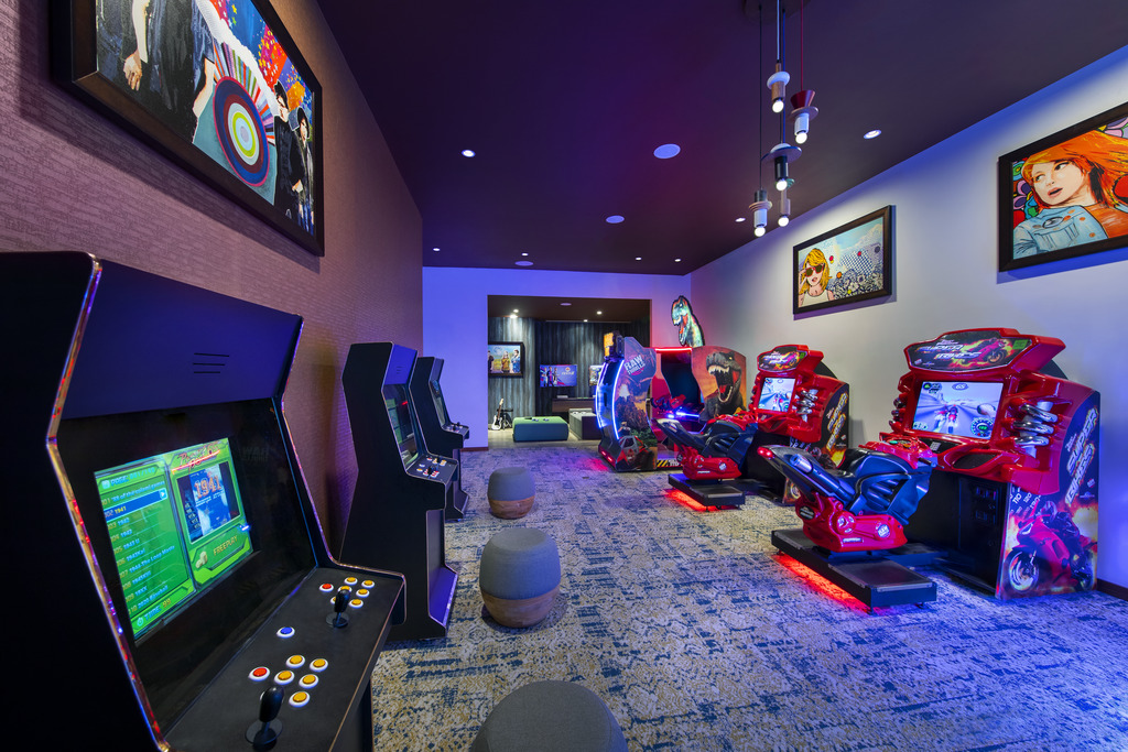 HRHLC CAVERN CLUB ARCADE GAME ROOM