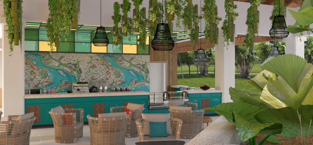 Hilton-La-Romana-Family-Coffee-Shop-Rendering