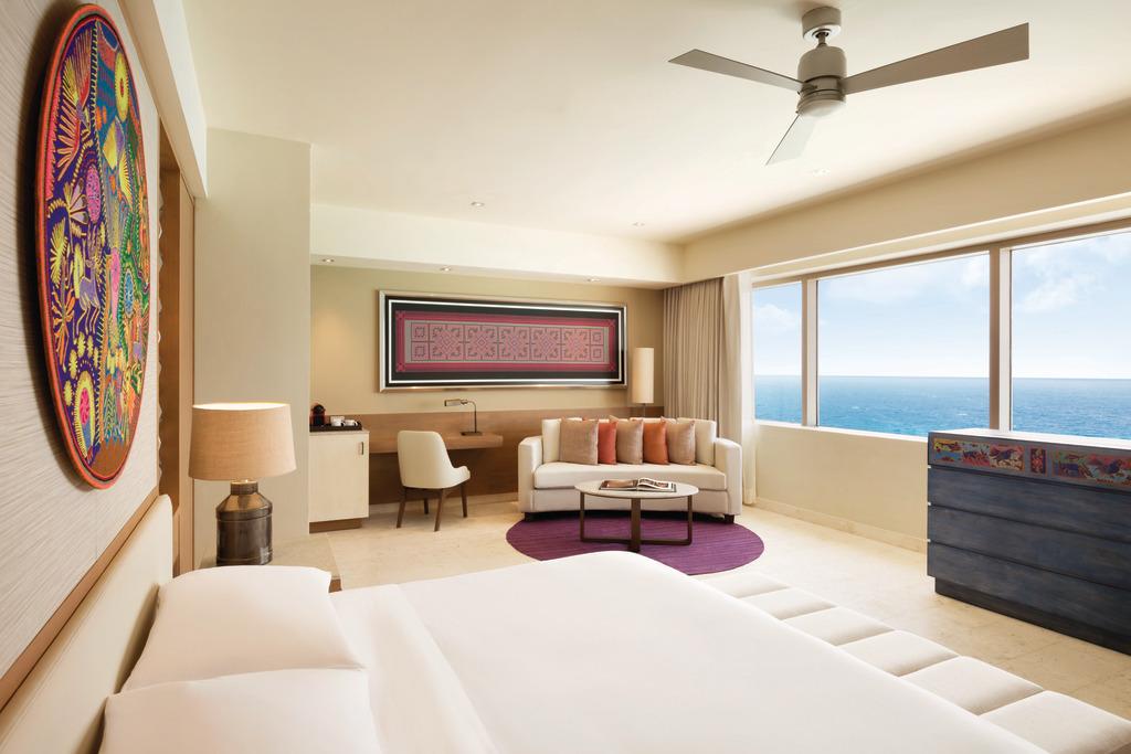 Hyatt-Ziva-Cancun-Presidential-Suite-Master-Bedroom