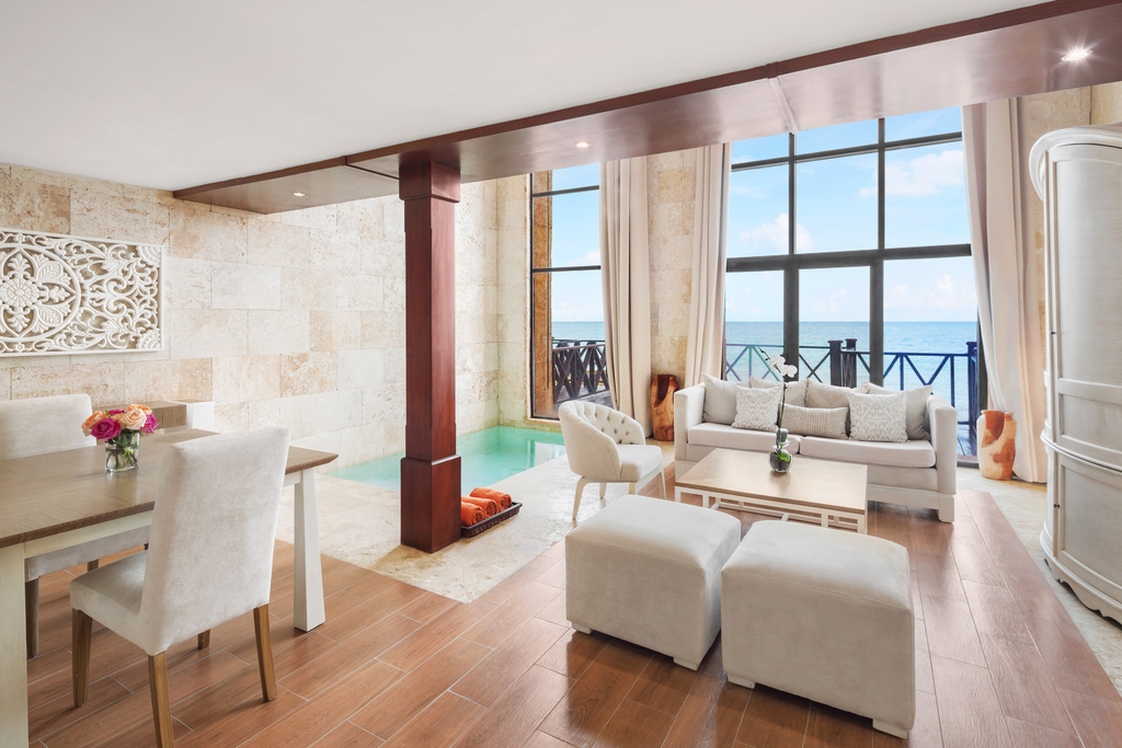 Sanctuary-Cap-Cana-Castle-One-Bedroom-Suite-Living-Area
