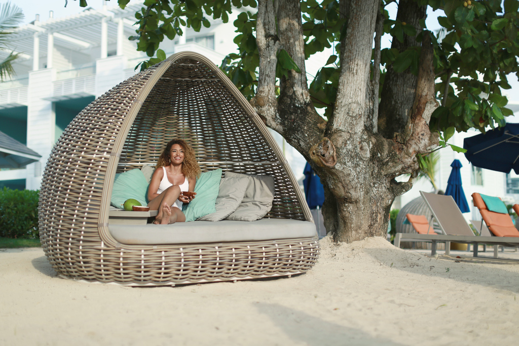 Negril Lifestyle ABR-Woman-on-beach-bed.