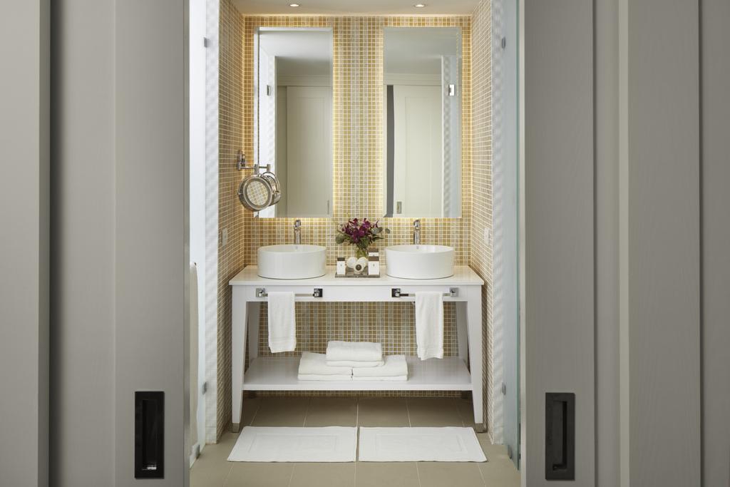 azul-negril-Premium Ocean View Suite bathroom Azul Beach Sensatori Negril Jamaica