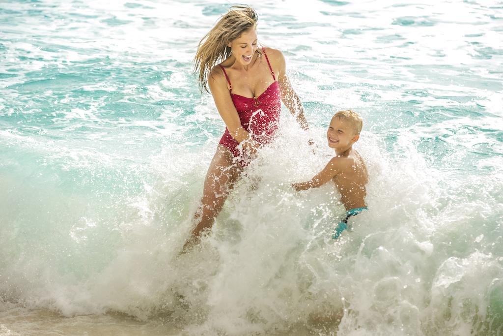 bp_Mom and son at beach