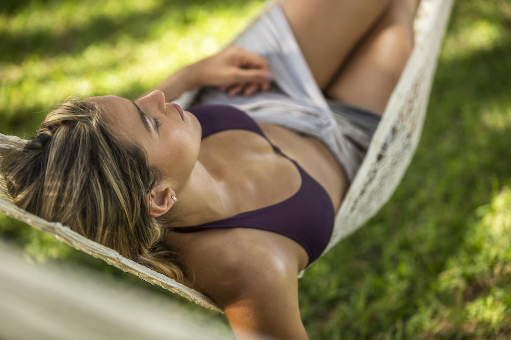 imp_Lady in hammock