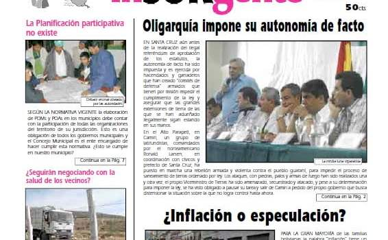 inSURgente, abril 2008