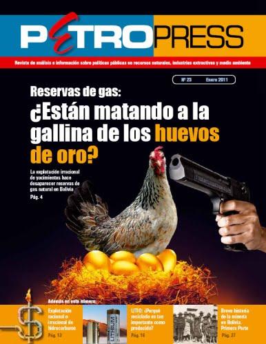 Petropress 23: Reservas de gas ¿Están matando a la gallina de los huevos de oro?