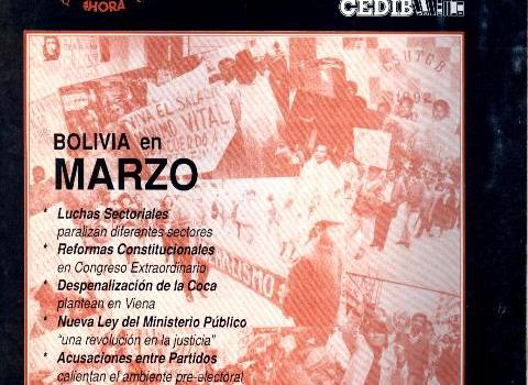 30 Días. Bolivia en marzo 1993
