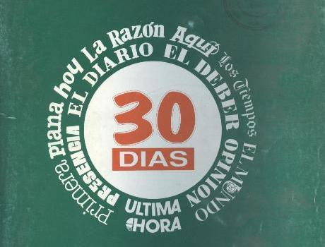 30 Días. Correo hemerográfico. (Enero 1992)