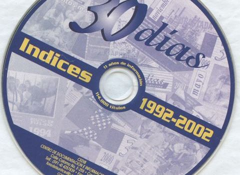 Índices 30 Días de Noticias: 1992 – 2002