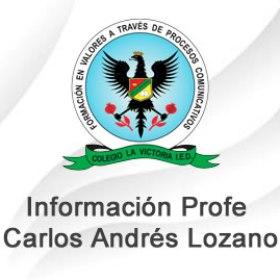 Información Prof. C. Andrés Lozano