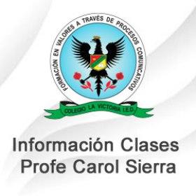 Clases Virtuales Prof. Carol Sierra