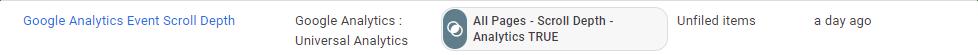 Analytics Event