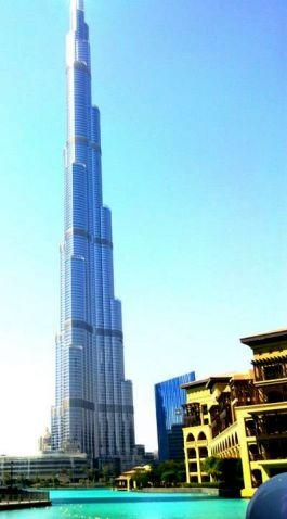 The Burj Khalifah - Dubai