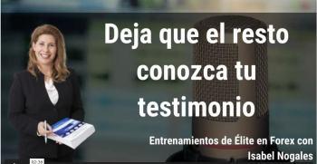 Isabel Nogales testimonios