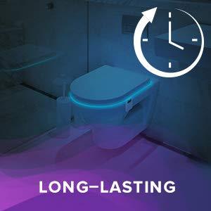 LumiLux Advanced 16-Color Motion Sensor LED Toilet Bowl Light 8