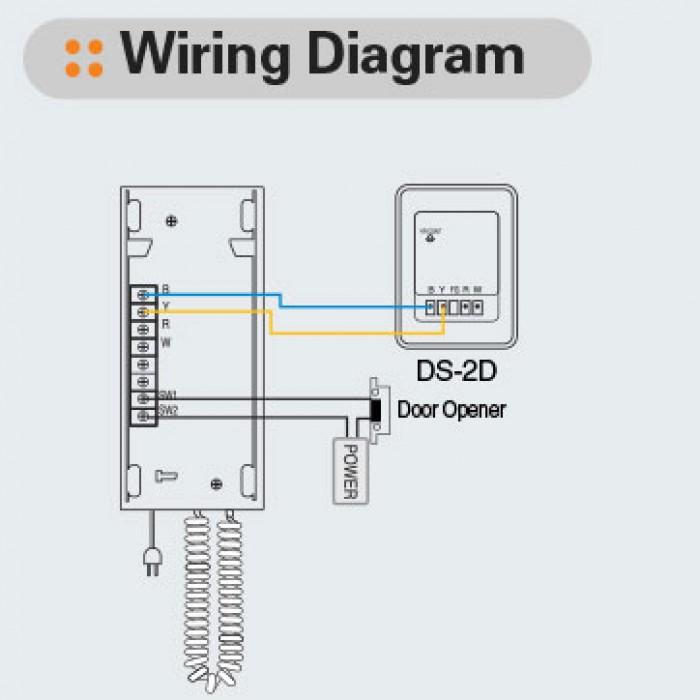 home intercom wiring diagram