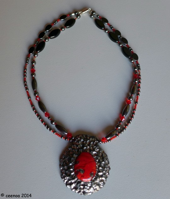 double strand red glass (1)