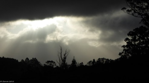 A beam in the Clouds