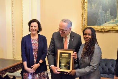 Senator Schumer Award Presentation