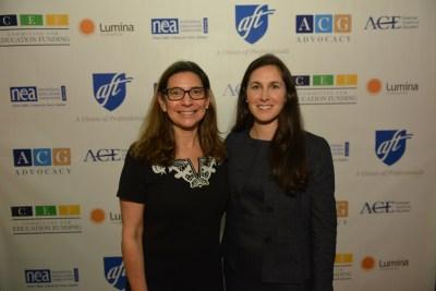 NAFIS Past Presidents - Hilary Goldmann and Jocelyn Bissonnette