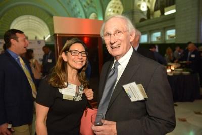 NAFIS Past Presidents - Hilary Goldmann and John Forkenbrock