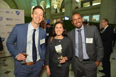 Danny Carlson (NAESP), Jocelyn Bissonnette (NAFIS), Earl Hadley (AFT)