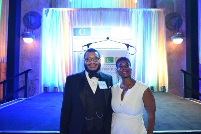 Lodriguez Murray (UNCF) and Brittany Singleton (ISTE)