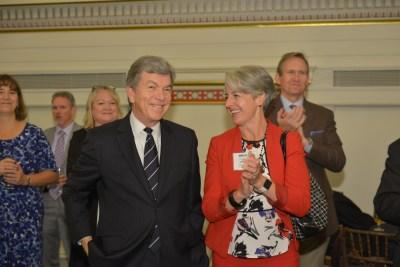 Senator Roy Blunt and Mary Kusler