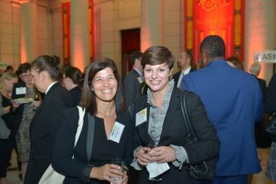 Amanda Miller and CEF Board Member Corey Williams