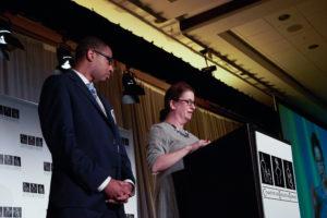 CEF Executive Director Sheryl Cohen and CEF President Makese Motley