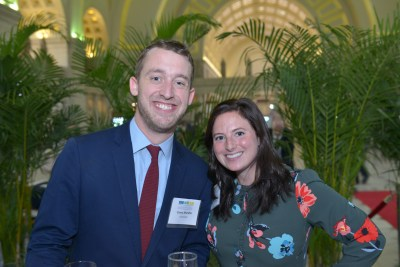 Casey Mindlin and CEF Board Member Ally Bernstein