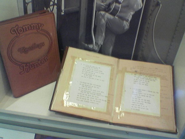 Tommy Hunter Book