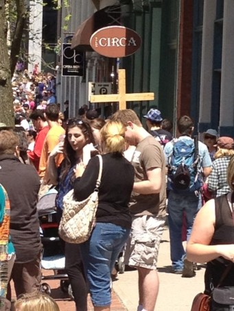 A Cross in Every Crowd