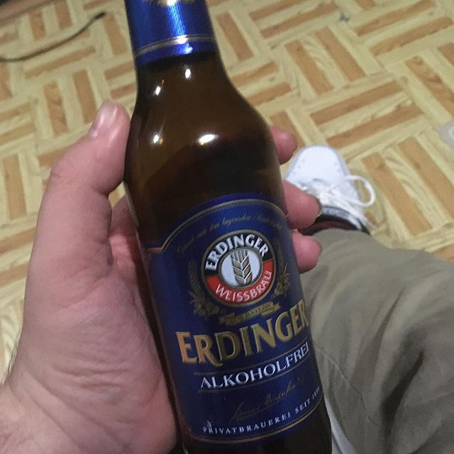 Tastes pretty darn good since I can't mix my pills with alcohol. Still 😭about missing Oktoberfest.