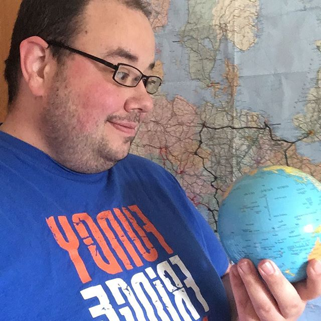 Why be blue? The #FundyFringe is in only two! (Days) #2daysuntilfringe #tshirtselfie
