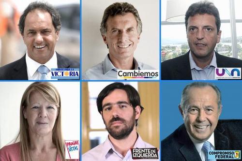 candidatos presidenciasles con partido