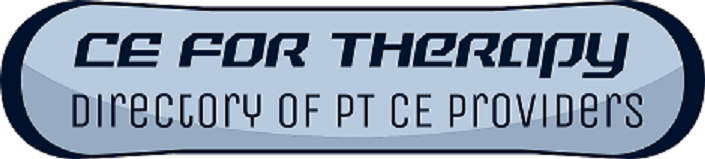Physical Therapy Credentials and Acronyms l CE For Therapy