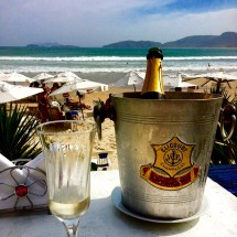 vino espumoso playa