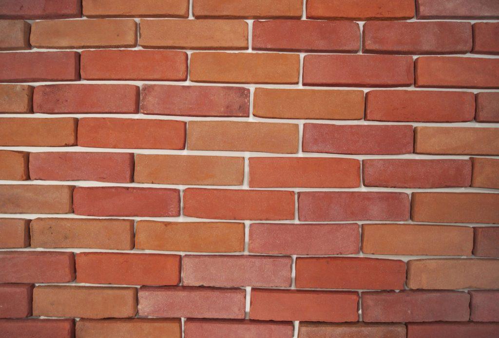 Brick facade melange  Brickyard Trojanowscy  bricks